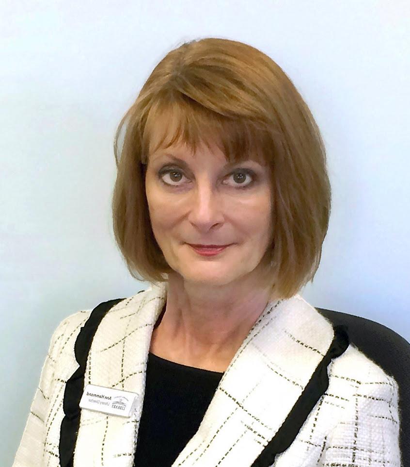 Library Director Ann Hammond