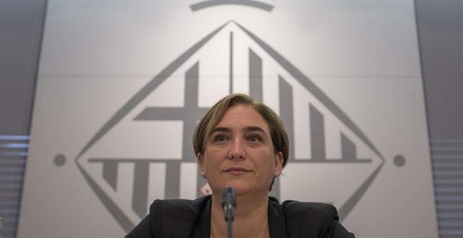 La alcaldesa de Barcelona, Ada Colau. EFE/Alejandro García