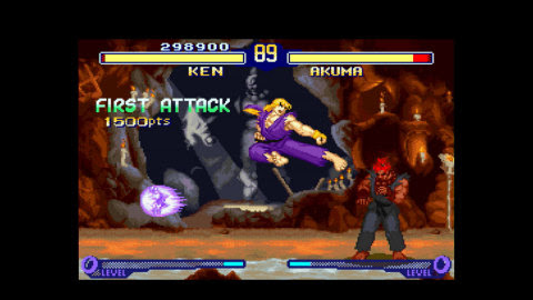 Street Fighter Alpha 2 for the Virtual Console on Wii U explodes with lightning-fast game play and a ...