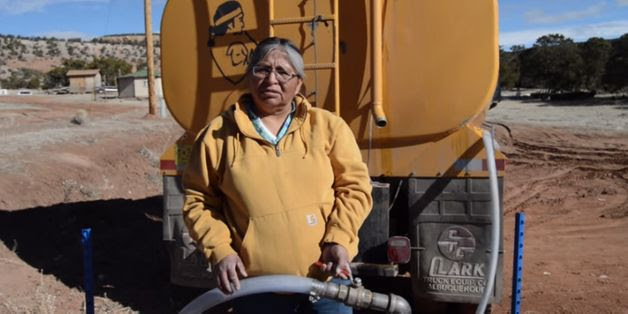 Navajo Woman Trucks Water 75 Miles A Day To People On Parched Reservation