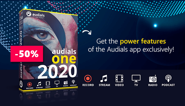 50% Off Audials One 2020 Coupon
