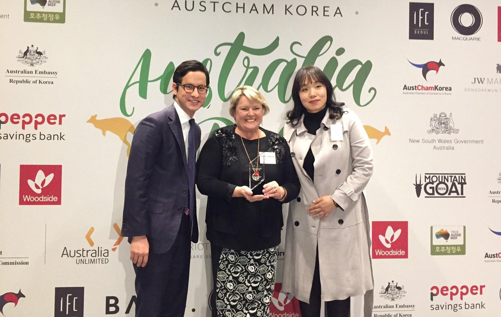 TAFE Queensland picks up Korea business award