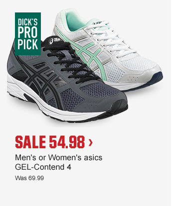SALE 54.98 > | Men's or Women's asics GEL-Contend 4 | Was 69.99