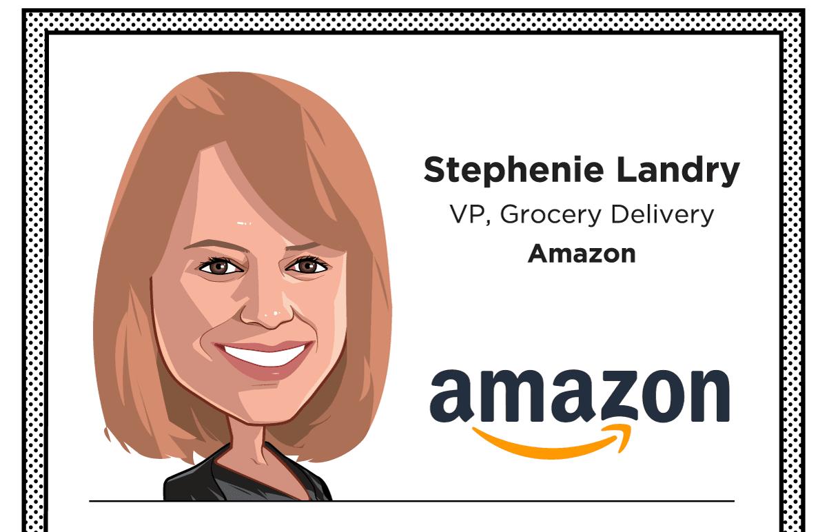 Stephenie Landry, VP, Grocery Delivery, Amazon