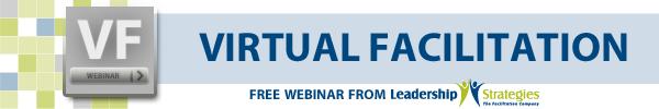 Virtual Facilitation Training Skills Webinar