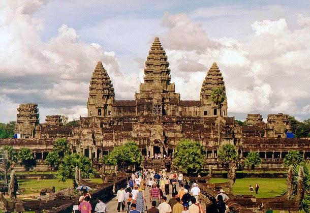 ankor1 - Extraña alineacion a nivel mundial de antiguas construcciones