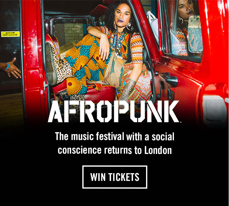 AFROPUNK - The music festival with a social conscience returns to London - WIN TICKETS