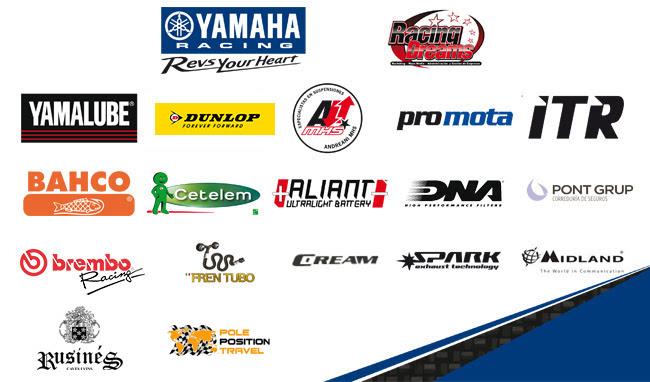 Yamaha R1 Challenge Sponsors