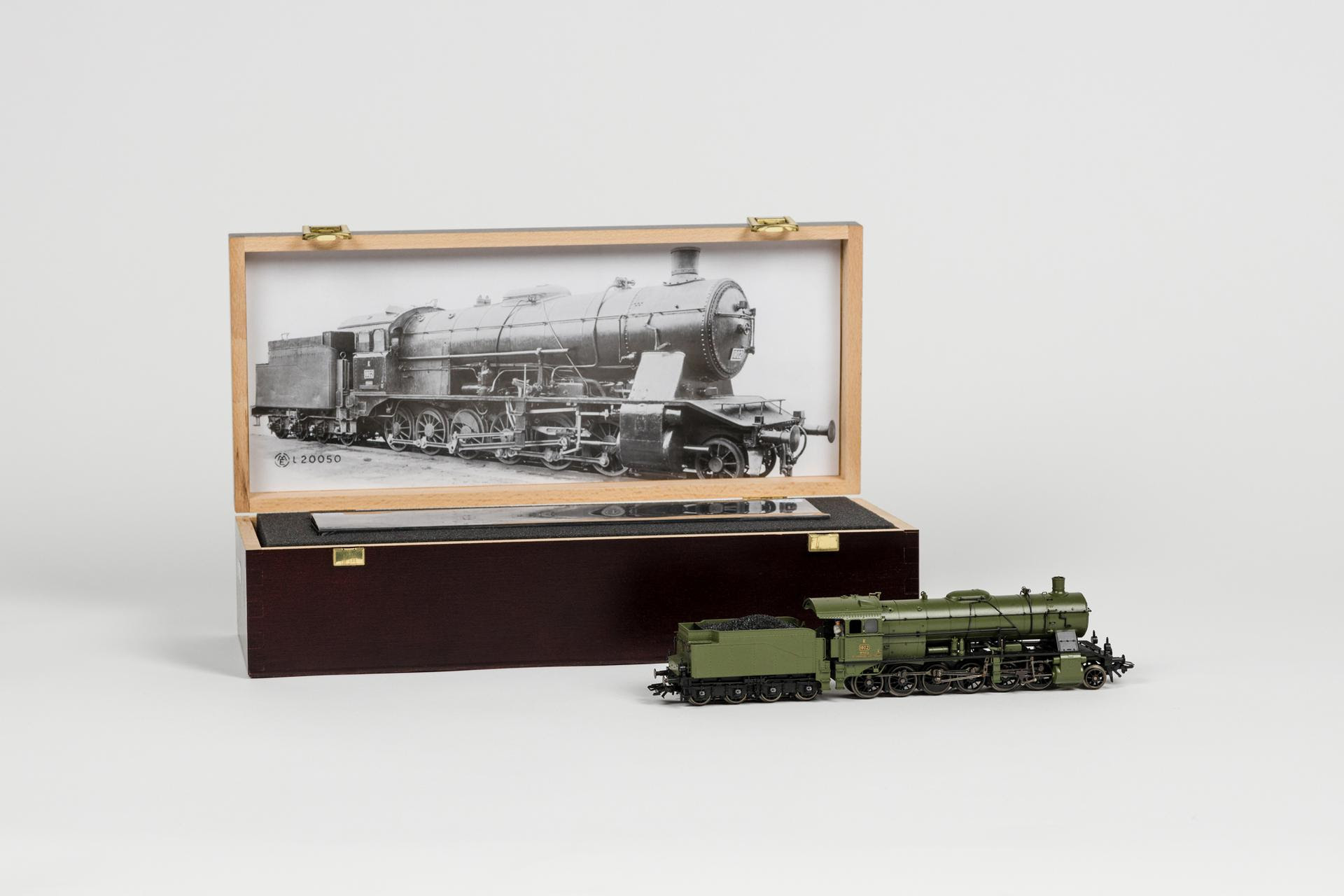 Märklin H0 - 37055 - Steam locomotive, Klasse K from the K.W.St.E, digital MFX and with many sound options, produced in 2005 and 2006 as a special, in special luxury wooden box.
