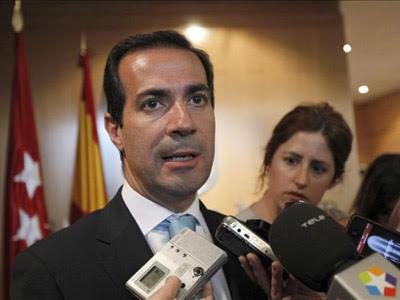 El consejero de Presidencia, Justicia y portavoz del Gobierno madrileño, Salvador Vitoria