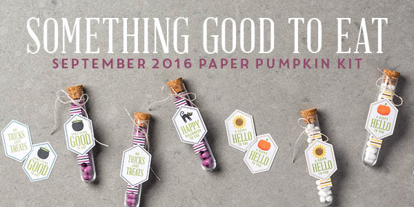 Stampin'Up! September Paper Pumpkin Kit