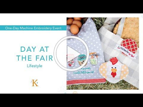 Day at the Fair | Machine Embroidery Event