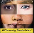HIV Screening. Standard Care.