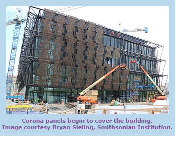 Corona Panels on Building