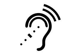 Symbol for assistive listening system