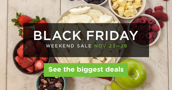 Black Friday Weekend Sale Nov 23-28