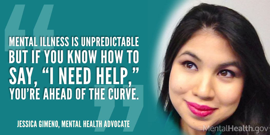 Jessica Gimeno Story: MentalHealth.gov