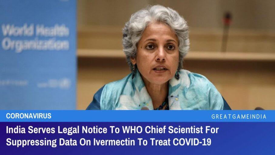Η Ινδία γνωστοποιεί νομικά σε ποιος επικεφαλής επιστήμονας για την καταστολή δεδομένων για την ιβερμεκτίνη για τη θεραπεία του covid