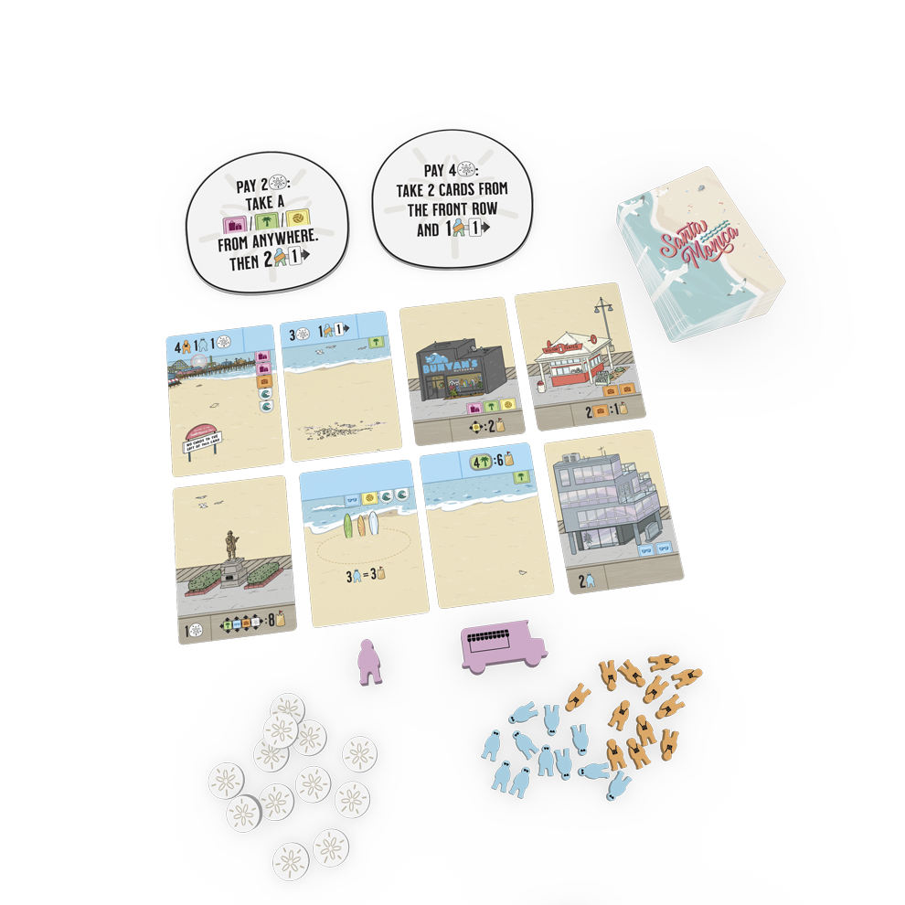 Santa Mónica en español - Delirium Games