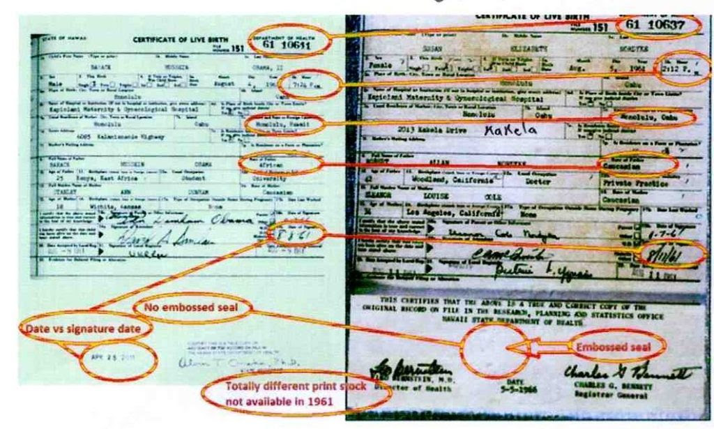Bombshell Evidence: Obama Birth Certificate Scientifically Proven Fake, Forged, Fraudulent!