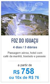 Foz do Iguaçu / R$ 738