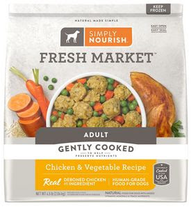 Simply Nourish Cooked Frozen Dog Food Recall