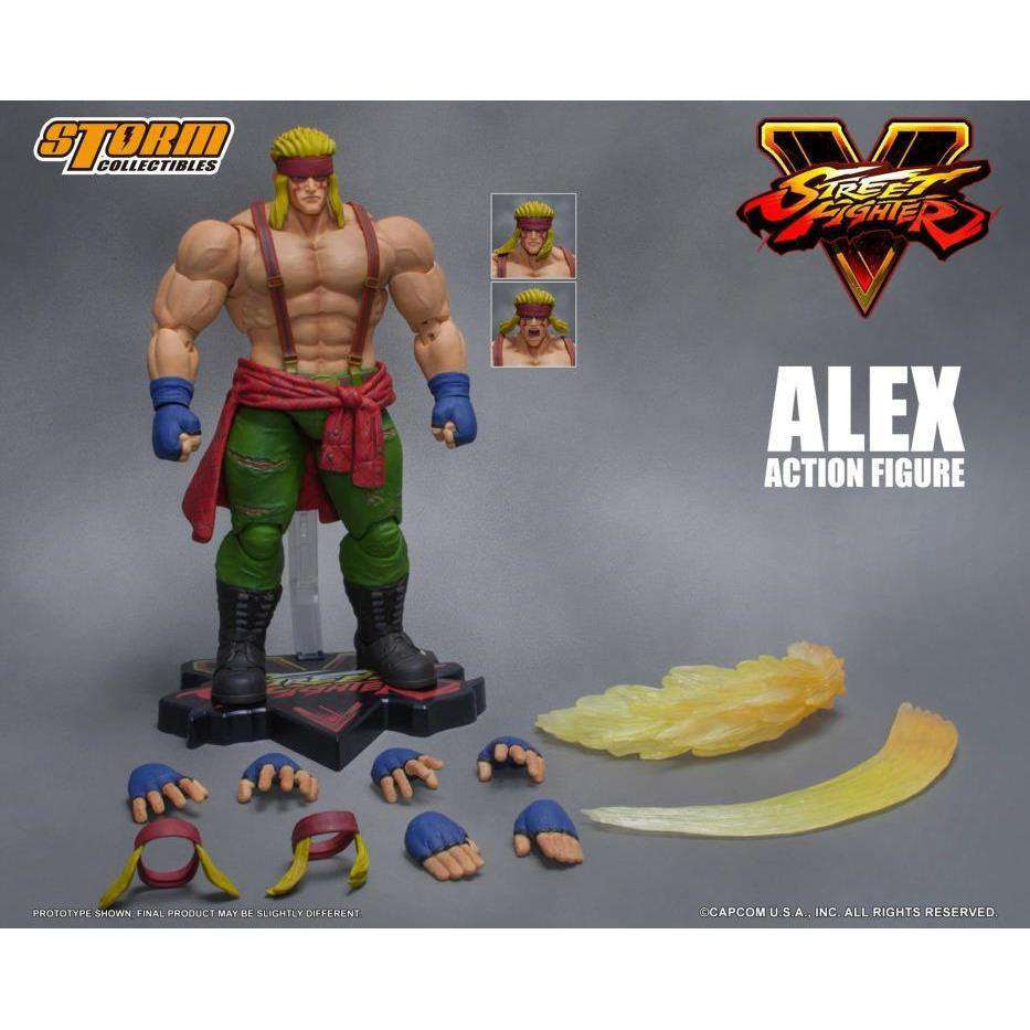 Image of Street Fighter V - Alex 1/12 Scale Figure