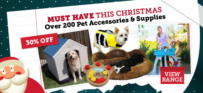Save 30% OFF Over 200 Pets Accessories & Supplies at DealsDirect.com.au