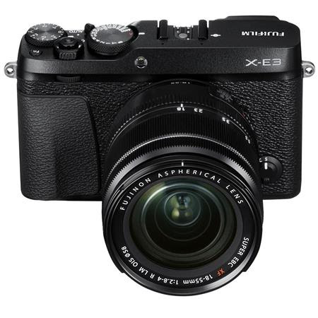 X-E3 Mirrorless Camera with XF 18-55mm f/2.8-4 R LM OIS Zoom Lens, Black