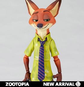Zootopia Figure Complex Movie Revo No.010 Nick Wilde