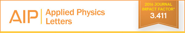 Applied Physics Letters - 2016 Journal Impact Factor: 3.411
