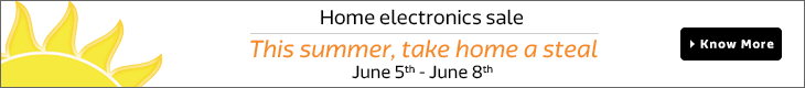Home Electronics Sale | June 5th - June 8th
