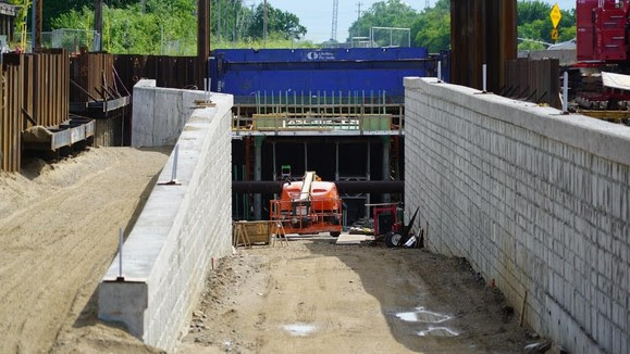 Regional Trail Underpass at Blake Road in Hopkins