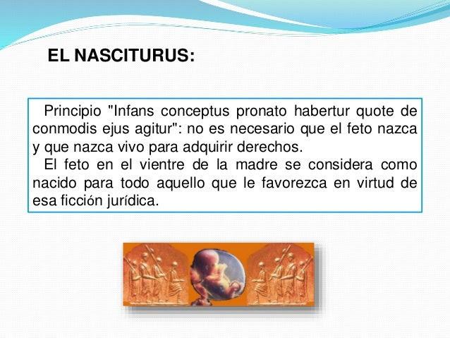 Resultado de imagen para nasciturus derecho romano