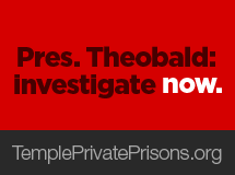 Tell Temple Pres. Theobald: Investigate now