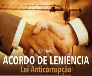Acordo de Leniência Seminário
