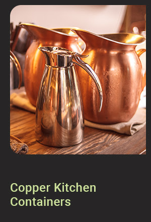 Copper Kitchen Containers