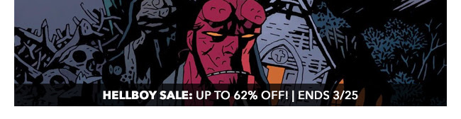 Dark Horse Hellboy Sale: up to 62% off! | Ends 3/25