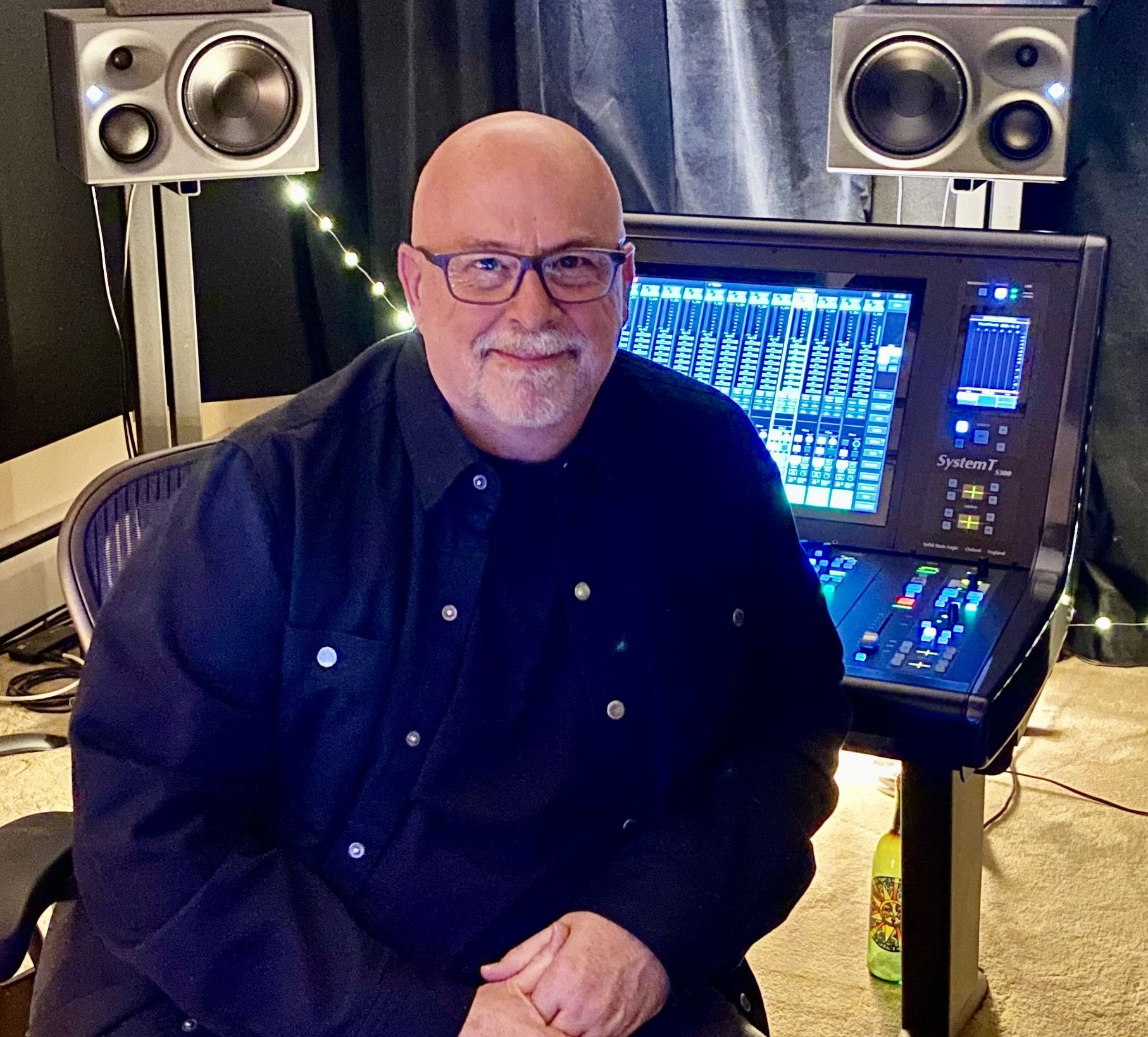 Since the pandemic hit, audio engineer John Harris has been working from home in his new 5.1.4 mix room, exclusively featuring Neumann monitors.