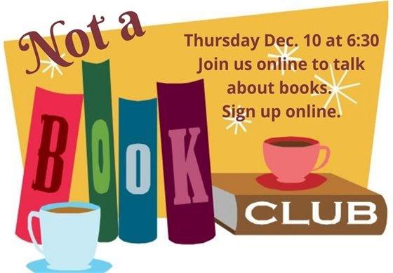 Not a book club