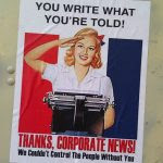 Media thanks corporate media for helping control the people