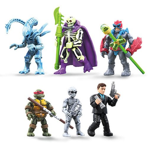 Image of Mega Construx Heroes Mini-Figure Series 5 - Complete Set of 5 - JULY 2019