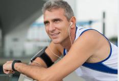 healthy guy at gym