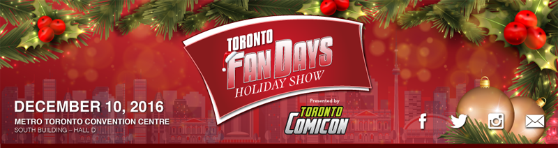 FAN EXPO CANADA - September 1-4, 2016