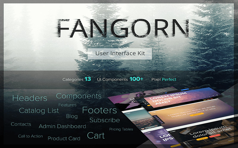 Fangorn User Interface Kit