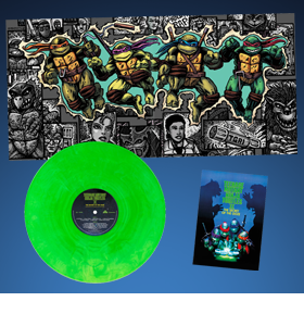 Teenage Mutant Ninja Turtles Part II: The Secret of the Ooze Original Motion Picture Soundtrack Vinyl LP