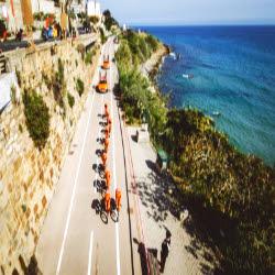 Escursione sulla pista ciclabile Villa Giada Resort