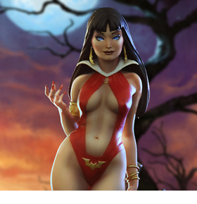 Vampirella 1/8 Scale Model Kit
