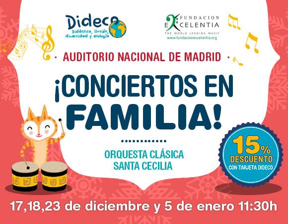 Conciertos de Navidad 2016 con Dideco