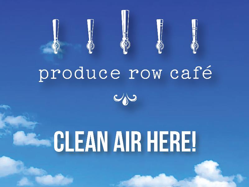 clean air produce row